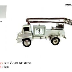 CAMINHÃO EM MINIATURA C/ RELÓGIO