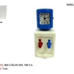 BEBEDOURO EM MINIATURA C/ RELÓGIO