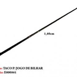 TACO DE BILHAR EM MADEIRA. TAM: 148CM