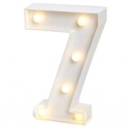 LUMINARIA NUMERO 7
